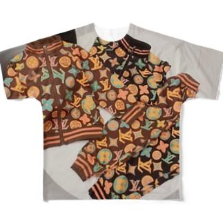 日中15~20度前後な今!におすすめキッズデイリーウェア|キッズアイテム・子供服Louis Vuittonルイヴィト Full graphic T-shirts