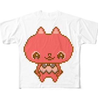 るるちゃん Full graphic T-shirts