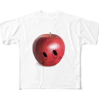 りんごまきりな Full graphic T-shirts