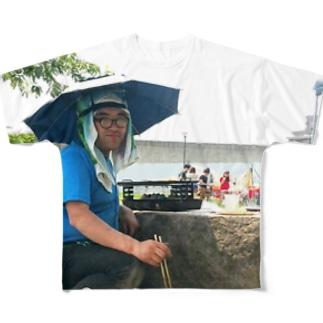 あの夏が飽和する Full graphic T-shirts