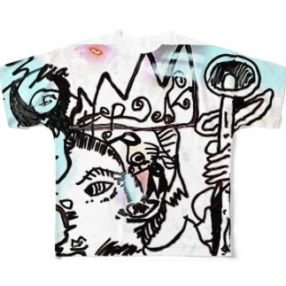 とのさまにんじゃ Full graphic T-shirts