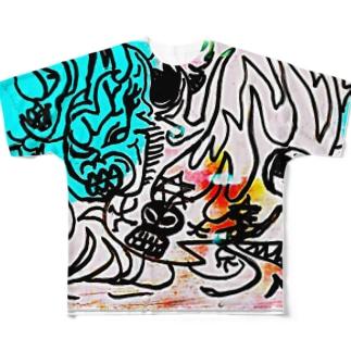 外来生物 Full graphic T-shirts