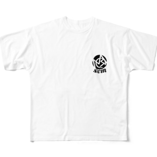 SCM original Tシャツ Full graphic T-shirts