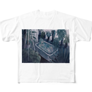 植物人間 Full graphic T-shirts