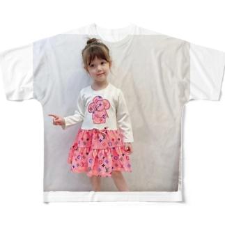子どものワンピース作りにおすすめの生地(ワンピースの種類ごとに紹介) Full graphic T-shirts