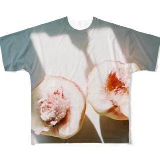 harucamera モモ Full graphic T-shirts