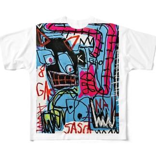 hound dog Full graphic T-shirts