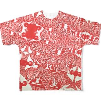 鳥樹顔T Full graphic T-shirts