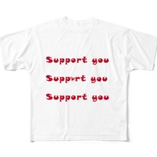 影武者 Full graphic T-shirts