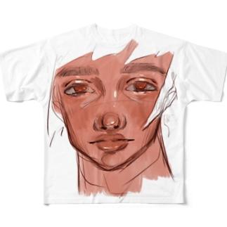 サイオンジくん Full graphic T-shirts