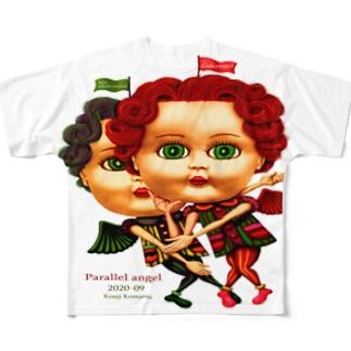 パラレルエンジェル Full graphic T-shirts