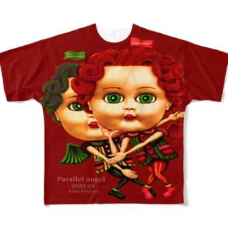 パラレルエンジェル-c Full graphic T-shirts