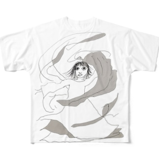 blanket Full graphic T-shirts