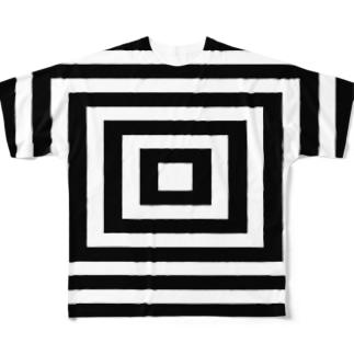 吸い込まれそうなtシャツ Full graphic T-shirts