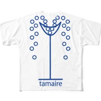 tamaire ※Bパターン(カラー2) Full graphic T-shirts