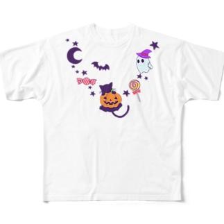 ポップハロウィン Full Graphic T-Shirt