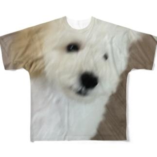俊足犬 Full graphic T-shirts