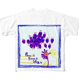 花占い Full graphic T-shirts
