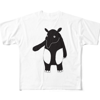 マレーバクのDin Full graphic T-shirts