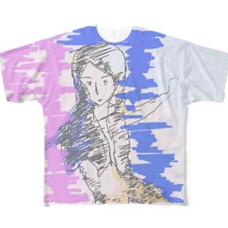 ナウ・ガール68 Full graphic T-shirts