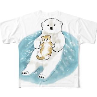 愛の漂着時 Full graphic T-shirts