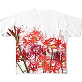 彼岸花満開ッ! Full graphic T-shirts