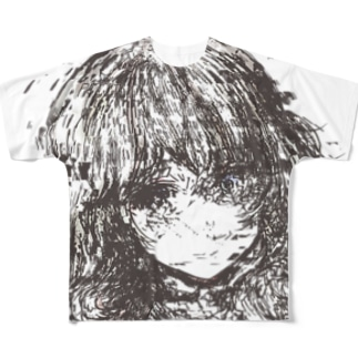 終わりの混濁 Full graphic T-shirts
