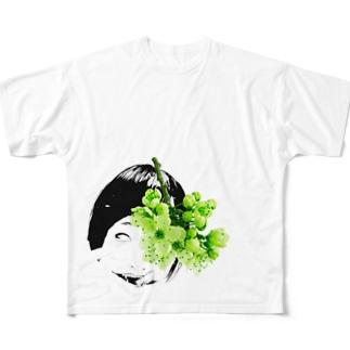 俺の嫁シリーズ9 Full graphic T-shirts