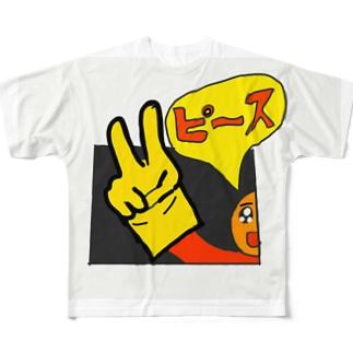 ピース Full graphic T-shirts