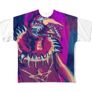 Skeksis purple Full Graphic T-Shirt