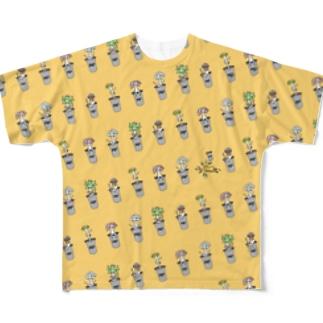 ハオライン Full graphic T-shirts