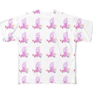 菅野とち Full graphic T-shirts