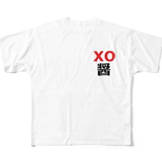 XO醤  エックスオージャン Full graphic T-shirts