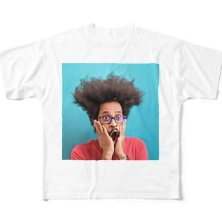 dog_punch Full graphic T-shirts