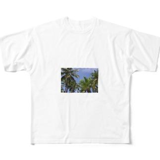 トコナツ常夏TOKONATSU Full graphic T-shirts