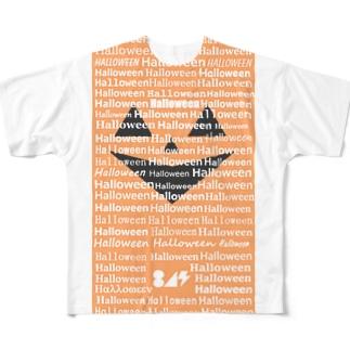 ジャックオーランタン氏 Full graphic T-shirts