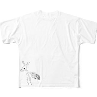 しか Full graphic T-shirts
