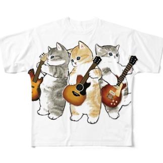 君のために歌う「ニャー」 Full graphic T-shirts