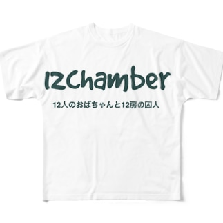 12chamber オフィシャルグッズ Full graphic T-shirts