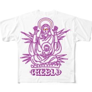 CHEBGOD  Full Graphic T-Shirt