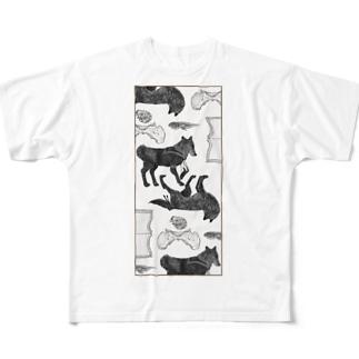 憂鬱 Full graphic T-shirts