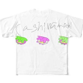 柏餅 Full graphic T-shirts
