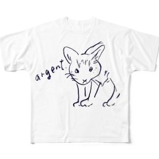 アルジャン Full graphic T-shirts