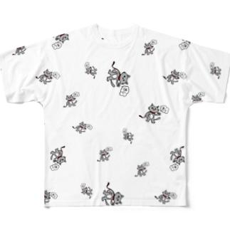 すしねこTシャツ Full graphic T-shirts