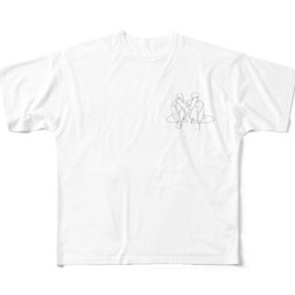 えもt Full graphic T-shirts