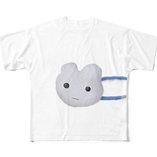 iminonaimojiのかわいいヘアゴム Full graphic T-shirts