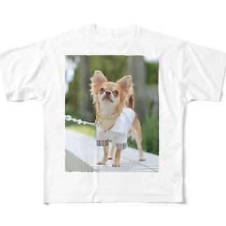 愛犬グッズ(sampleご購入不可) Full graphic T-shirts