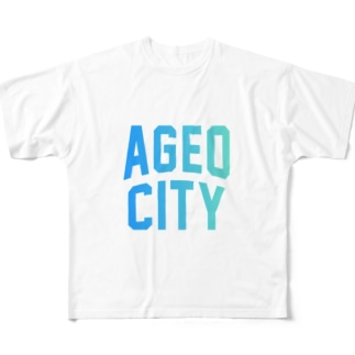 上尾市 AGEO CITY Full graphic T-shirts