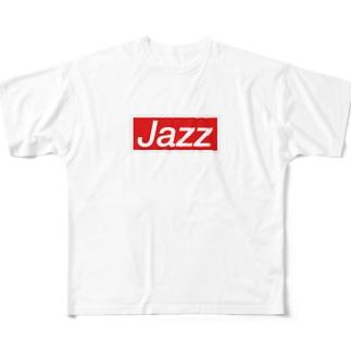 ジャズマンT Full graphic T-shirts