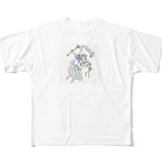 magic girl Full graphic T-shirts